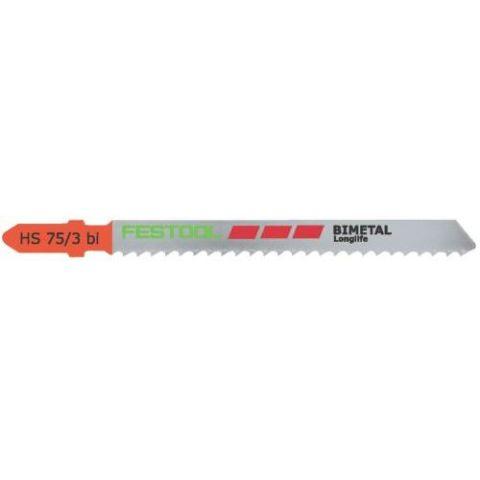 1120404 Festool HS 75/3 BI Sticksågsblad 5-pack