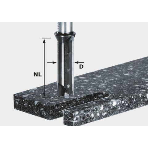 1120712 Festool HW S12 D14/45 WM Notfräs med vändskär, 12mm spindel