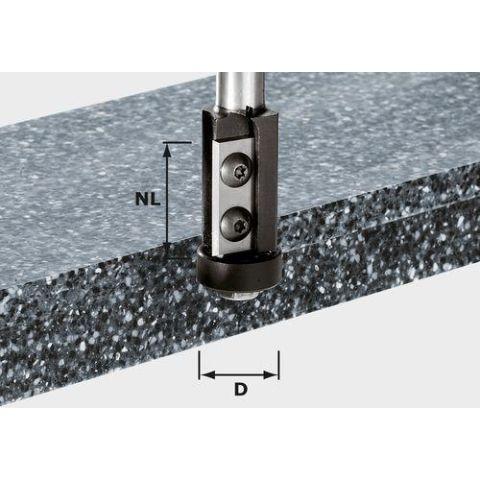 1120713 Festool HW S12 D21/30WM Kantfräs med vändskär, 12mm spindel