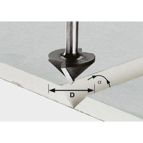 1120632 Festool HW S8 D12,5/45° Gipskartongfräs 8mm spindel