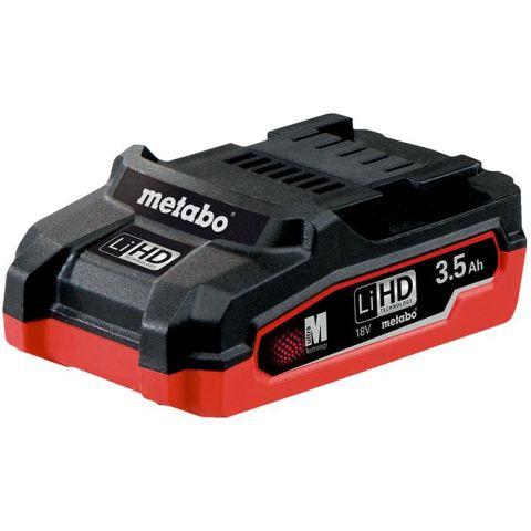 1110191 Metabo 18V LiHD Batteri 3,5Ah