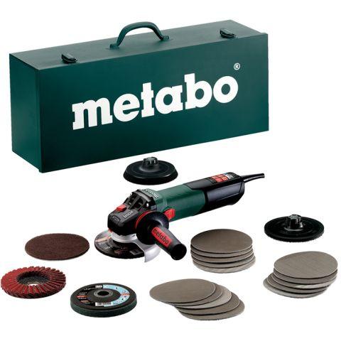1110531 Metabo WEV 15-125 Quick Inox Set Vinkelslip