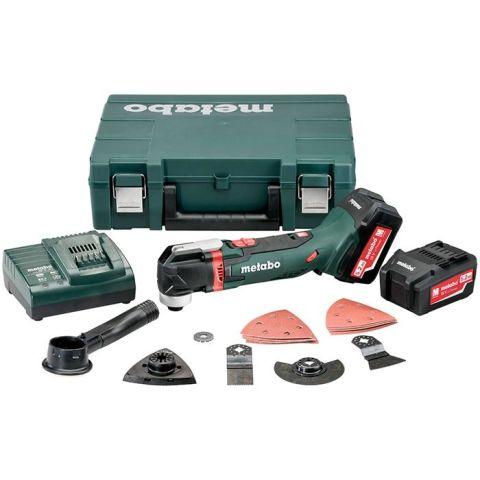 1110644 Metabo MT 18 LTX Multiverktyg med 5,2Ah batterier och laddare