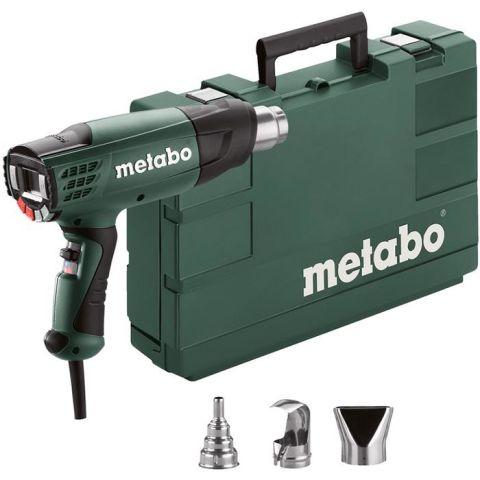 1110668 Metabo HE 23-650 CONTROL Varmluftpistol med förvaringslåda