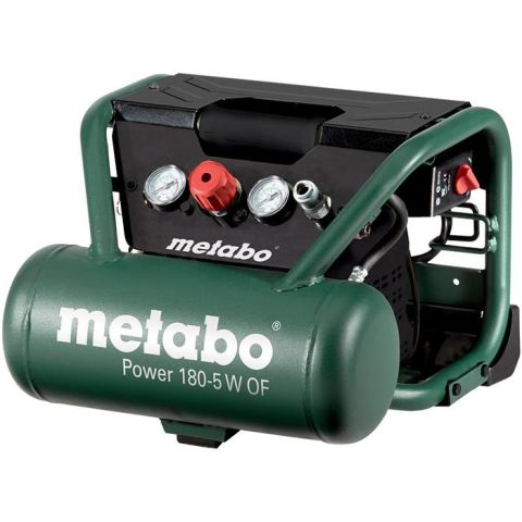 1110719 Metabo Power 180-5 W OF Kompressor med 5 liters behållare
