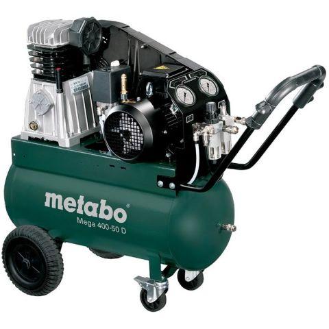 1110725 Metabo Mega 400-50 D Kompressor 50 liter
