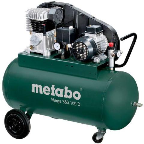 1110727 Metabo Mega 350-100 D Kompressor 90 liter