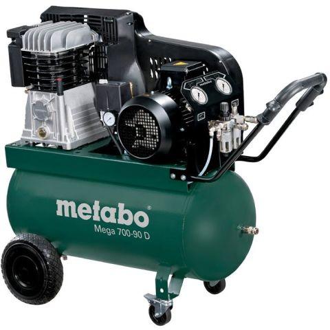 1110730 Metabo Mega 700-90 D Kompressor 90 liter