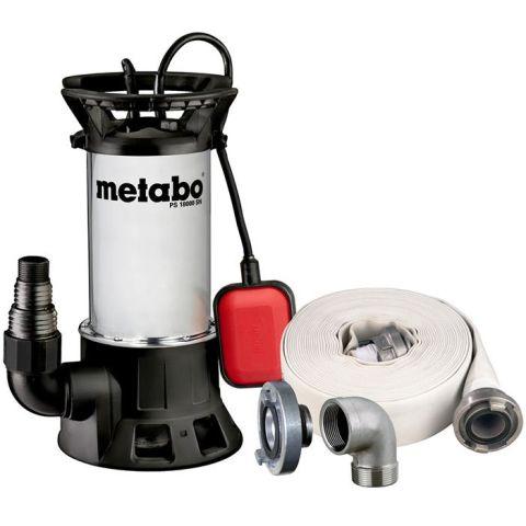 1110924 Metabo PS 18000SN Smutsvattenpump med slang och koppling