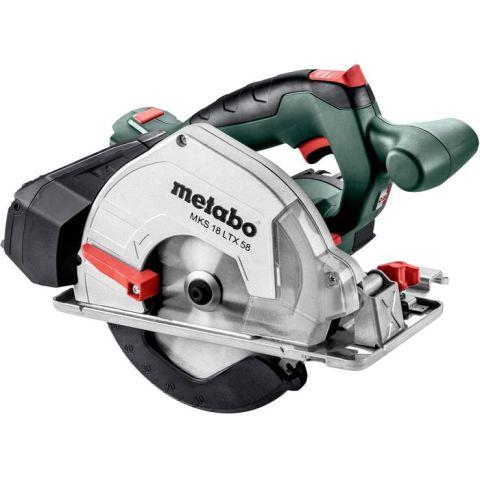1110998 Metabo MKS 18 LTX 58 Cirkelsåg utan batterier och laddare