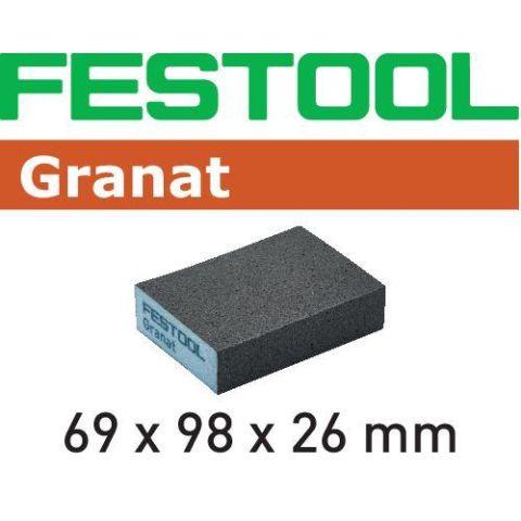 1120036 Festool GR/6 Slipsvamp 69x98x26mm 220