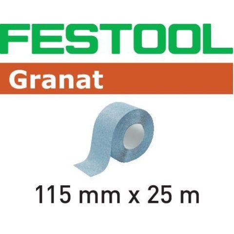 1120062 Festool GR Slippappersrulle 115x25m P180