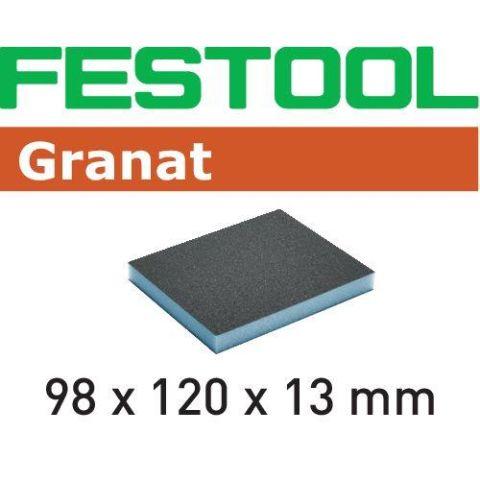 1120068 Festool GR Slipsvamp 98x120x13mm, 6-pack 220