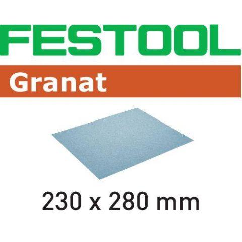 1120088 Festool GR Slippapper 230x280mm, 10-pack P80
