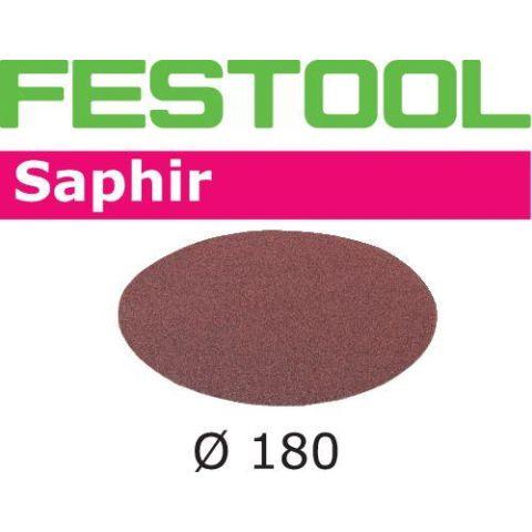 1120362 Festool STF SA Slippapper 180mm, 25-pack P80