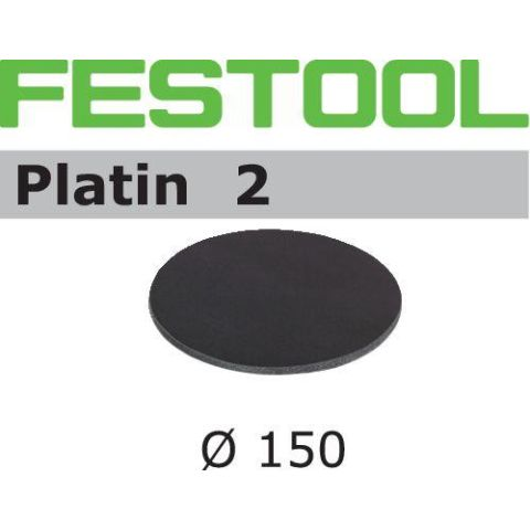 1120855 Festool STF PL2 Slippapper 150mm, 15-pack S500