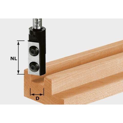1120910 Festool HW D14/30 S8 Notfräs med vändskär, 8mm