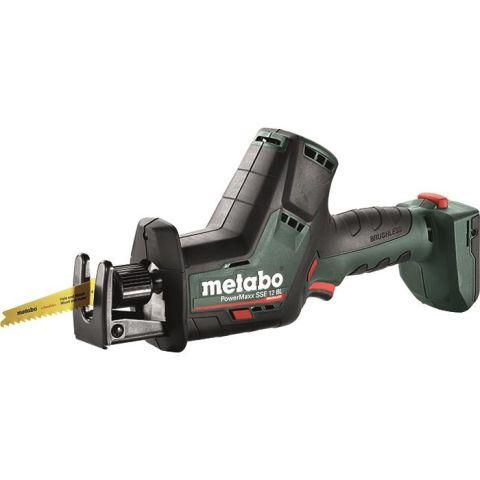1111017 Metabo PowerMaxx SSE 12 BL Tigersåg utan batteri och laddare