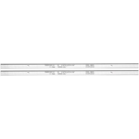 1111181 Metabo 0911063549 Hyvelstål HSS, 2 st