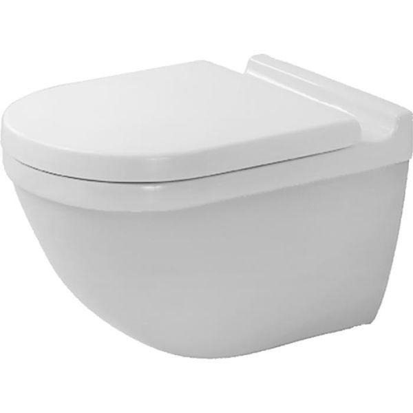 WC-skål Duravit Starck 3 matt, exkl. sits och lock