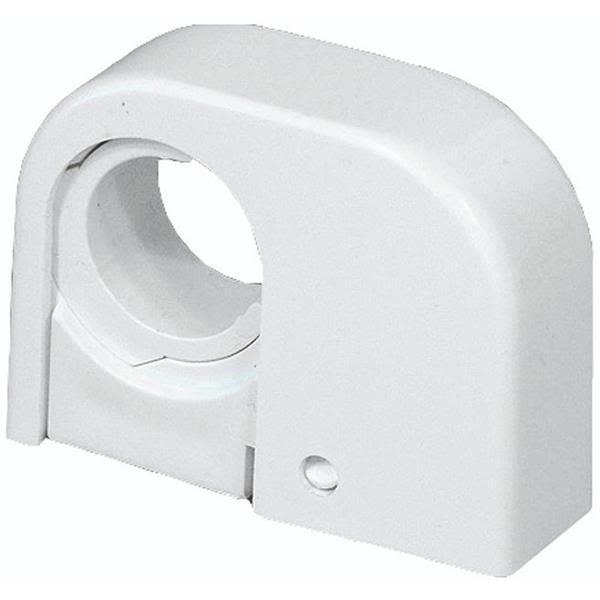 Rörklämma Purus Purusklämman enkel, 22-28 mm, vit
