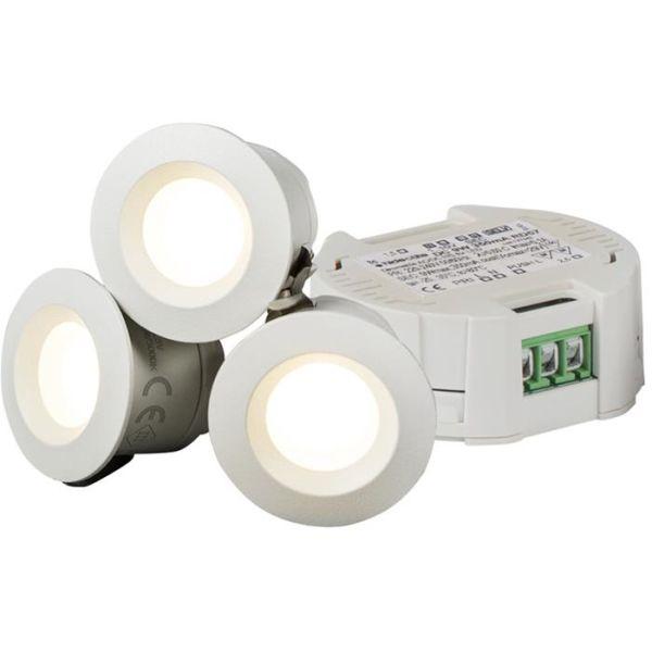 Downlightkit Hide-a-Lite Core Smart 45°, vit, 2700 K