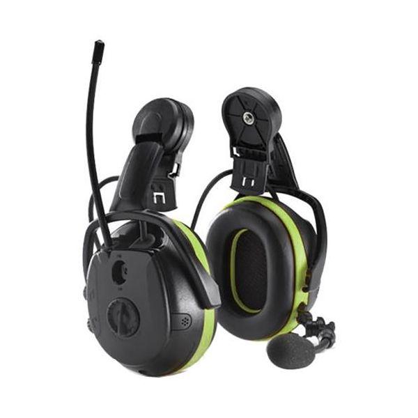 Hörselskydd Hellberg Synergy Multipoint Bluetooth, med hjälmfäste