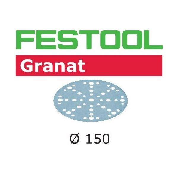 Hiomapaperi Festool STF D150 GR 150mm, 48-reikäinen, 10 kpl P320