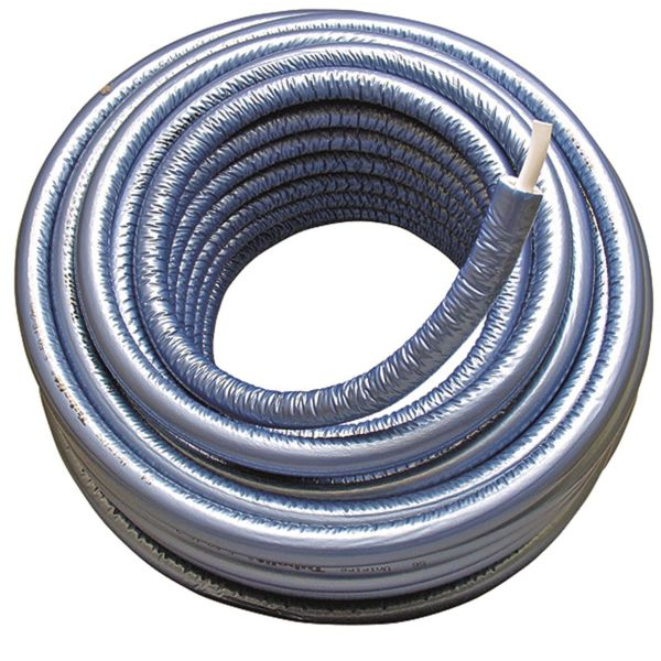 MLC-rör Uponor 1874428 med isolering 75 m, 20x2,25 mm