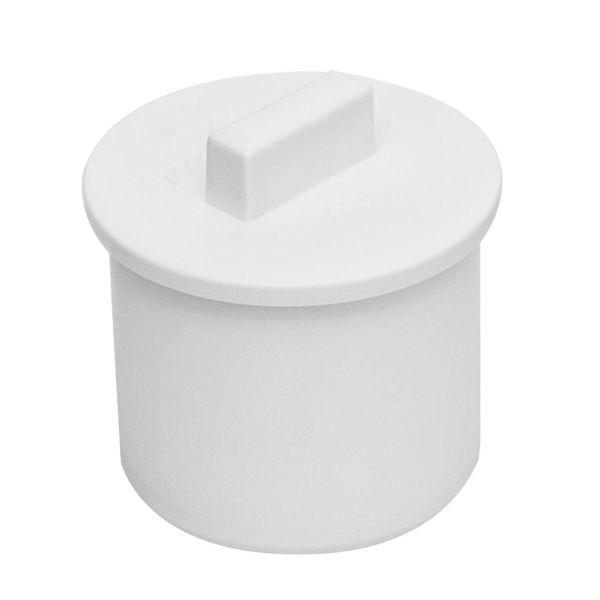 Ändpropp Faluplast 2316098 slätända 40 mm