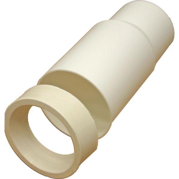 Anslutning Pipelife 2828150 för WC, rak