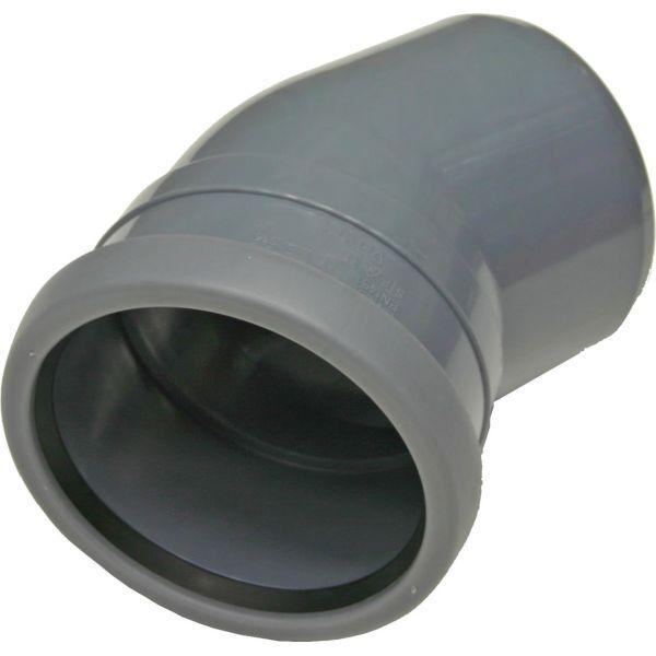 Böj Pipelife 170323 med 1 muff, 30° 50 mm