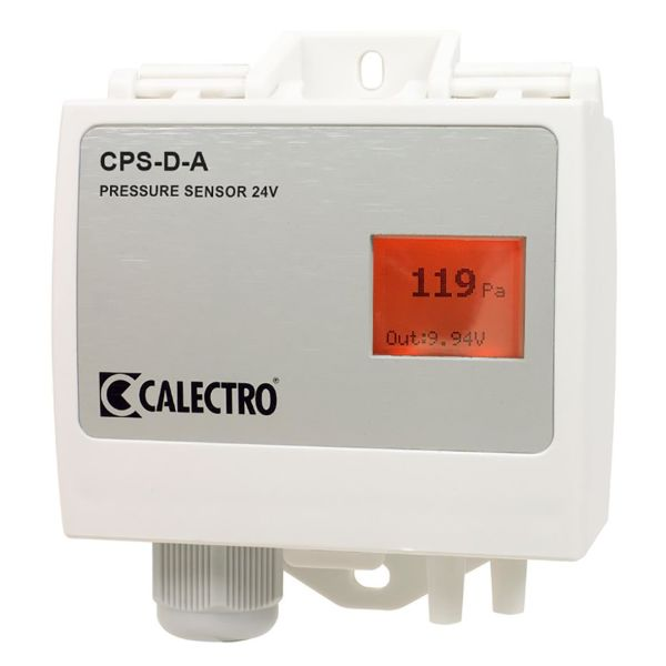 Tryckgivare Calectro CPS-D-A 24V med display