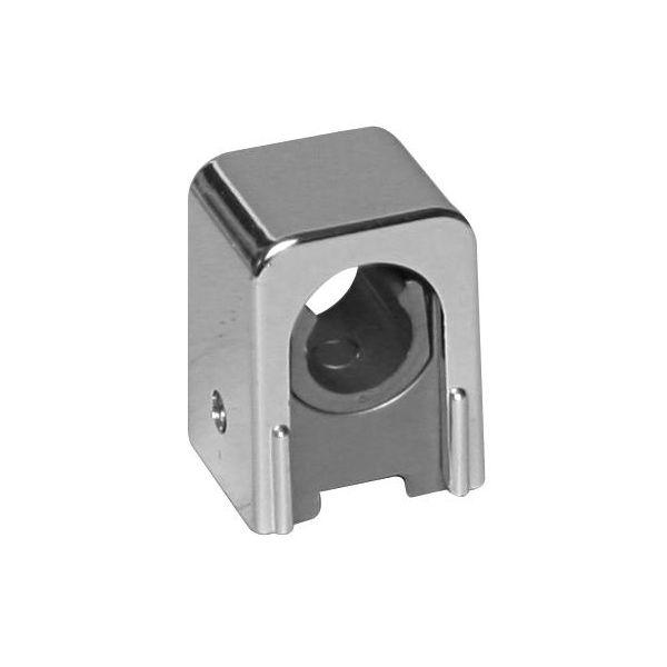 Rörklämma Faluplast Snap 14135 enkel, 12-15 mm Krom