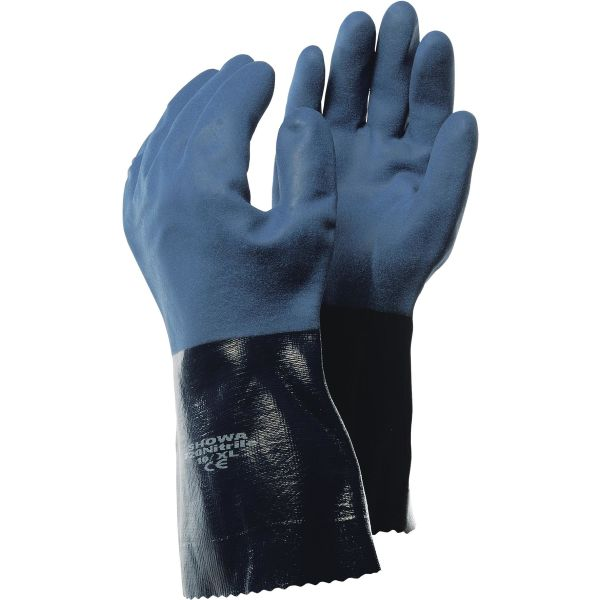 Handske Showa 710 Kemskydd, Nitril Strl 7