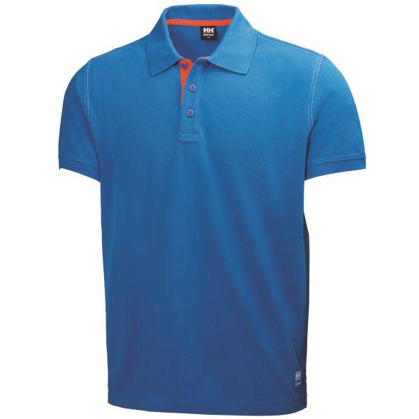 H/H Workwear 79025-530 Pikétröja blå L