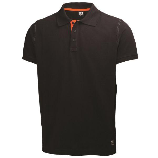 Pikétröja Helly Hansen Workwear Oxford svart Strl XXL
