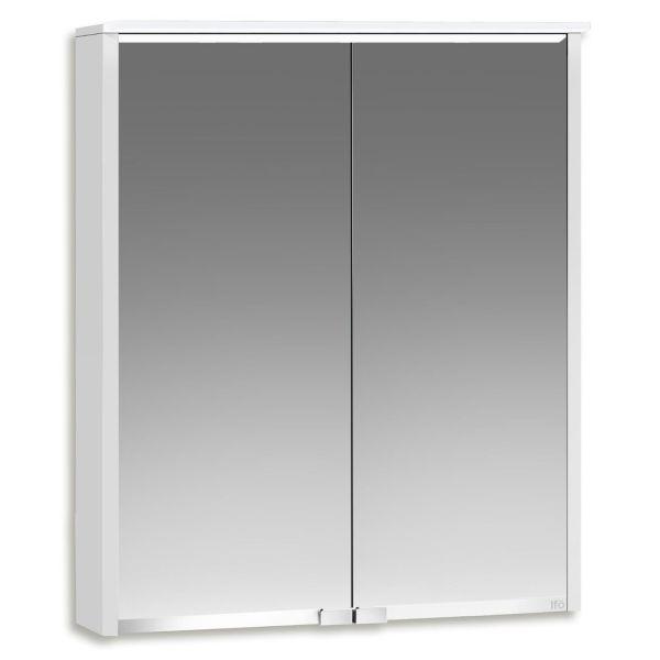 Ifö Option Bas 60 Badrumsskåp vit med spegel och belysning 600 mm