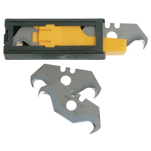 Ironside 127058 Knivblad 50 mm hake 5-pack