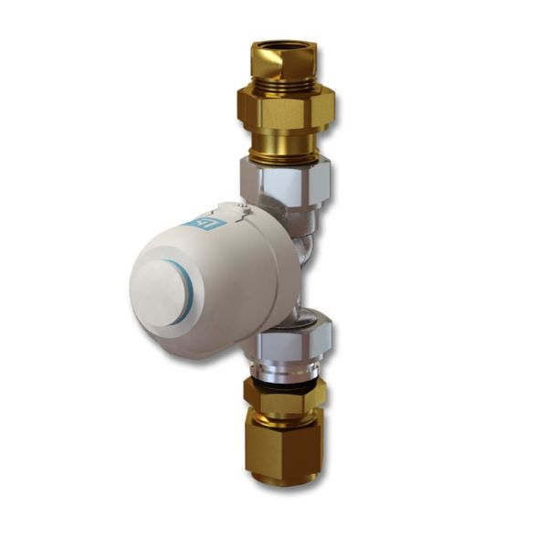 LK Systems Mini Termostatventilsats G15 x 16 mm