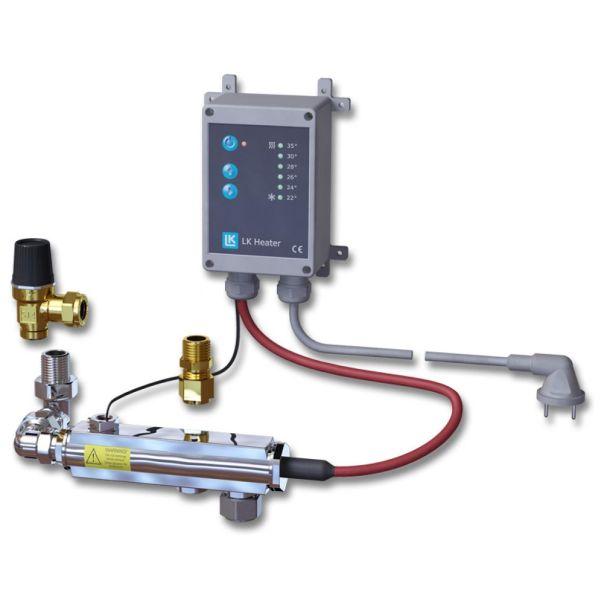 LK Systems Heater 350 Komfortvärmare 1-16 st. kretsarrör