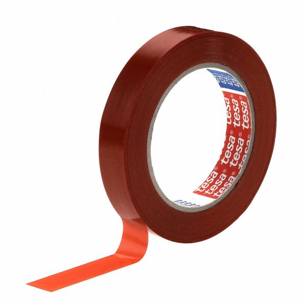Pakkausteippi Tesa 4287 punaruskea punaruskea, 66 m x 19 mm