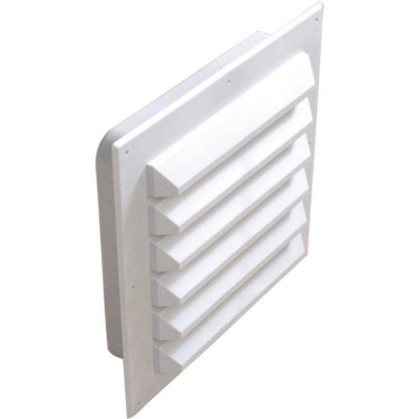 Ventilgaller Flexit 02120 med stos 102 x 102 mm