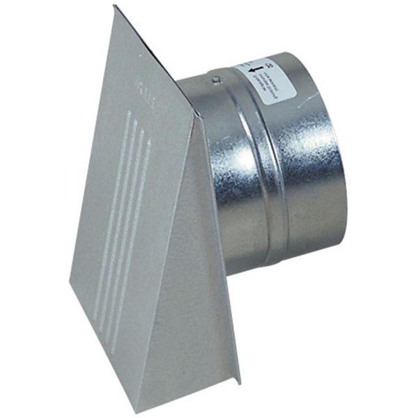 Ventilator Flexit 02392 spjäll och stormkåpa 150 mm