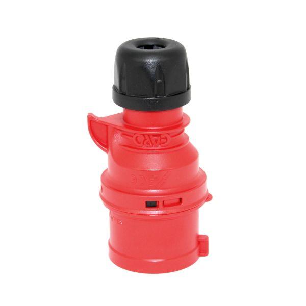 Stickpropp Garo Basic IP44 5-polig 16A 6h, röd