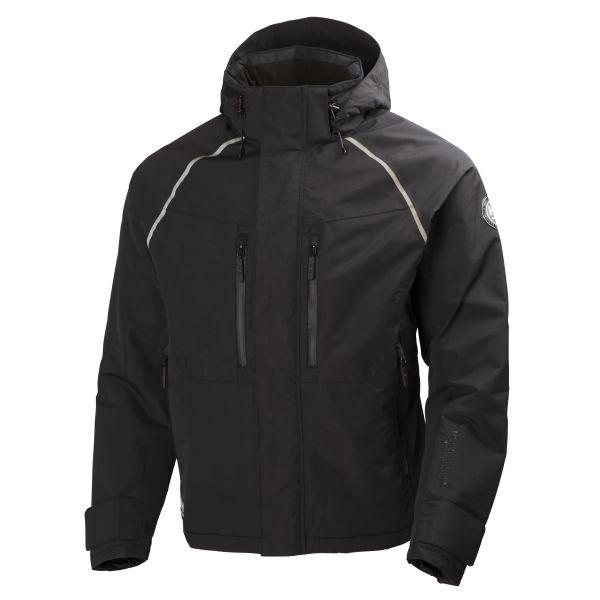 H/H Workwear Helly Tech Arctic Jacka svart vatten- och vindtät XXL