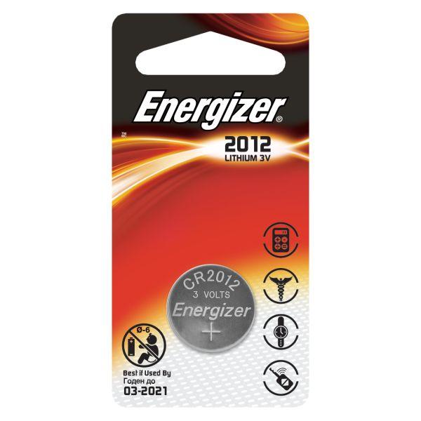 Batteri Energizer CR2012 PIP1 3 V, knappcell