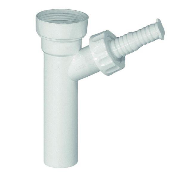 Tvättmaskinsanslutning Geberit 8077137 32 mm, med slangnippel och övergång