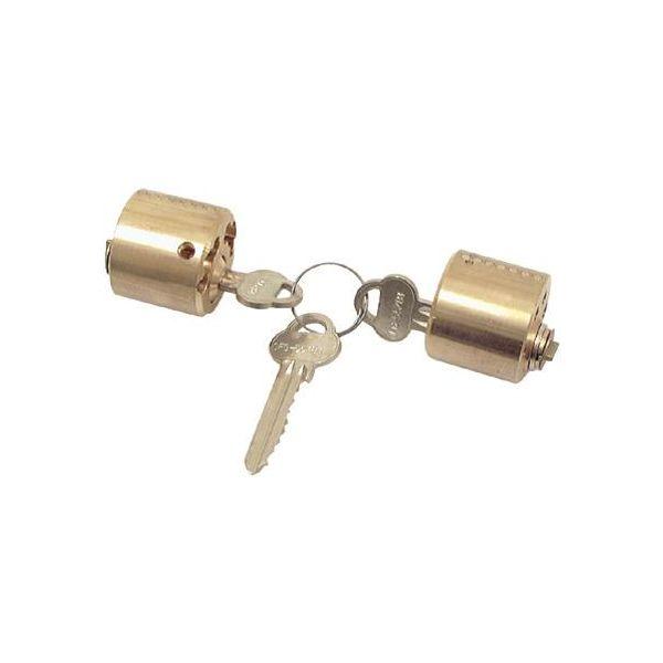 Låsesylinder ASSA 712 med 3 nøkler, dobbelt