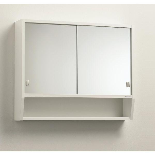 Svedbergs 99540 Spegel till skåp Tvilling 1 och 2 Spegel vänster